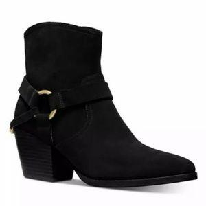 Michael Kors Goldie western ankle boots black 7.5